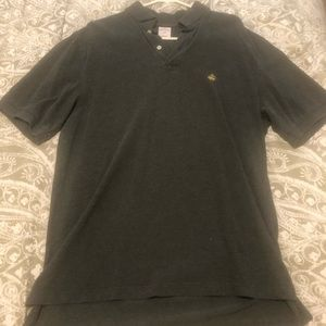 Brooks brothers gray polo size L